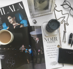 Oh La La - front page and editorial shoot