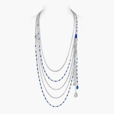 COLLIER SAPPHIRE STRIPES